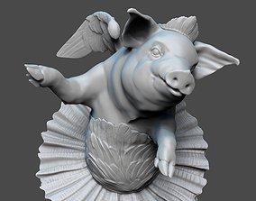 3D print model And the piggy dreams of ballet - Swan lake