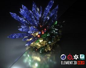 3D model Crystal Formation