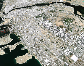 Cityscape Dubai United Arab Emirates 3D model landscape