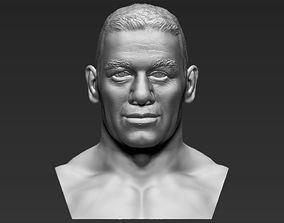 John Cena bust 3D printing ready stl obj formats