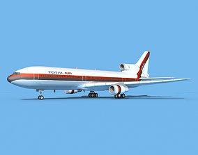 Lockheed L1011 Total Air 3D model