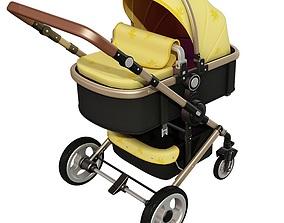Baby Stroller 3D