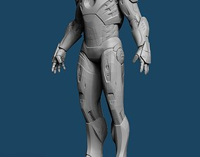 Iron Man MK7 Standing 3D print model