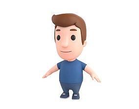 Little People 011 3D model