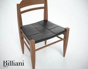 3D Billiani Vincent VG side chair teak