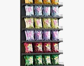3D asset Popcorn Shelving 2