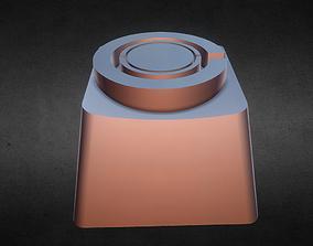 Cyborg Keycap 3D print model