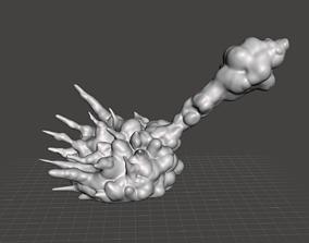 Rocket Launcher Explosion Jetpack smoke 3D printable model