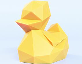 3D model Duckling Low Poly