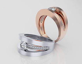 luxury Women ring 3D print model