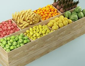 3D Store Fruits Stand