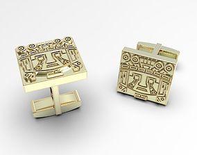 Aztec Inca Maya ethno ornament 3D printable model