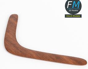 3D Boomerang