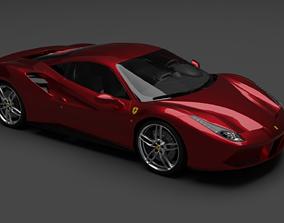 Ferrari 488 GTB 3D