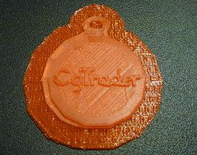 Cgtrader Keychain 3D print model