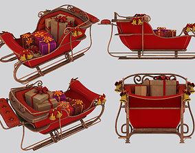 3D model sleigh
