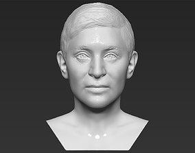 Ellen Degeneres bust 3D printing ready stl obj