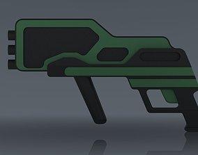 3D model Conceptual Weapon