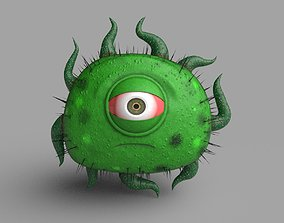 Virus Character 3D