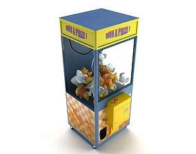 3D model Game Claw Machine