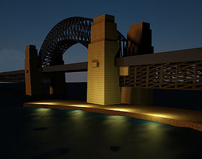 Sydney Harbour Bridge Model