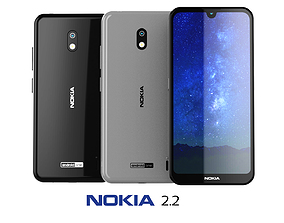 Nokia 2 2 Collection 3D model