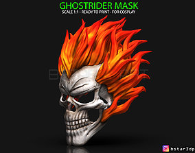 Ghost Rider mask -Agents of SHIELD - Marvel 3D print model