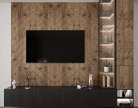 3D Modern Tv set