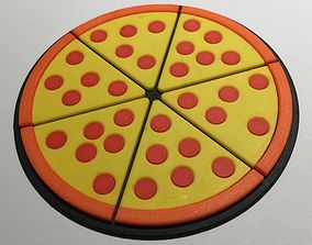 3D print model Pizza Coaster