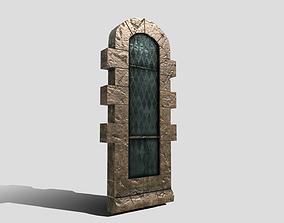 3D asset Generic Castle Window