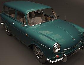 3D VW Type 3 squareback 1963