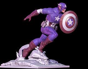 3D printable model captain america