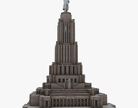3D asset Palace of Soviets