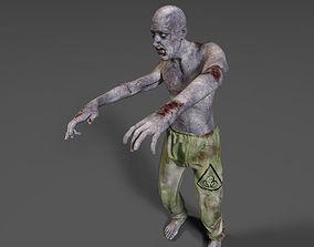 Zombie Biohazard 3D asset