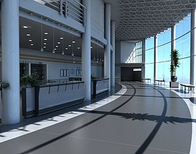 3D model Bar Entrance Lobby
