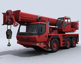 Crane Truck 3D asset