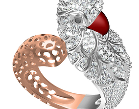 CW - LADIES RING 390 3D print model