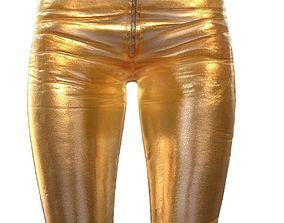 Legging Gold 2 3D model