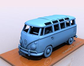 VOLKSWAGEN T1 SPLIT SCREEN 1967 3D print model