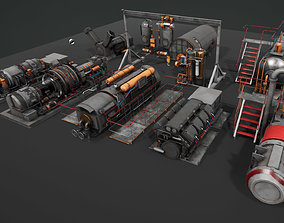 3D asset Machinery devices pack for Unreal engine