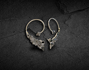 3D printable model Earring abstract Urban Ear Cuff