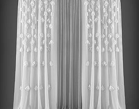 Curtain 3D model 250 VR / AR ready