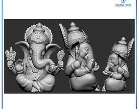 Ganesha Idol 3D Printable model ganesha