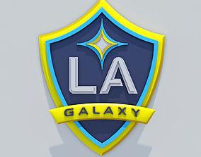 LA Galaxy Crest 3D