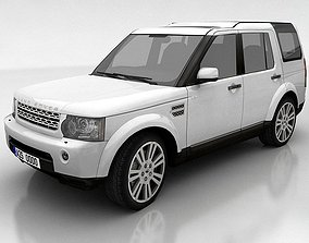 3D model Land Rover Discovery 4