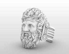 3D printable model zeus Jupiter ring