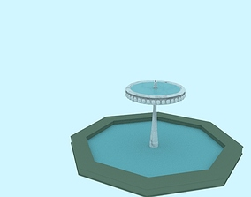 fountain fountains Fountain 3D