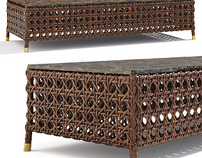 SAMUELE MAZZA Rigel rectangular table 3D