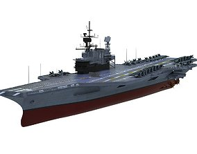 3D model USS Midway CV-41