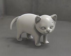 cats Low-poly 3D model